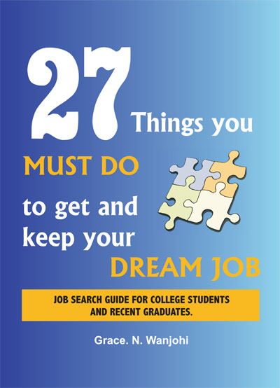 27 things you must do to get and keep your dream job